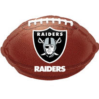 Oakland Raiders Foil Balloon 18in
