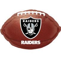 Oakland Raiders Foil Balloon 18in
