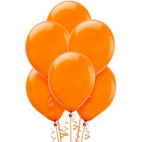 Orange Balloons 72ct