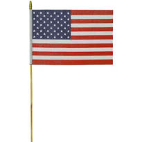 Large American Flag 18in