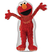 Foil Waving Elmo Balloon 34in