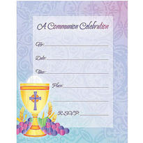 Value Pack Blessed Communion Invitations 20ct