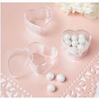 Mini Heart Wedding Favor Boxes 24ct