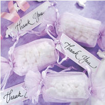 Lavender Wrapper Wedding Favor Kit