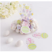 Multi Color Mini Baby Shower Favor Bag Kit 24ct