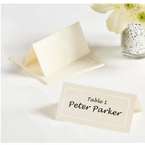 Ivory Imprintable Place Cards 12ct