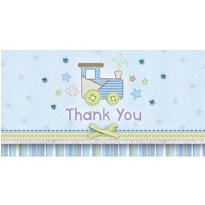 Carter Boy Baby Shower Thank You Notes 8ct