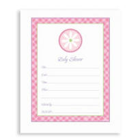 Daisy Baby Shower Invitations 20ct