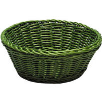Green Round Serving Basket