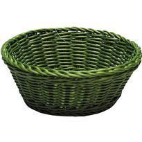 Green Round Serving Basket