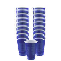 Royal Blue Plastic Cups 50ct