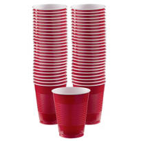BOGO Red Plastic Cups 16oz 50ct