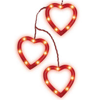 Heart Outline Light Set 5ft 3ct