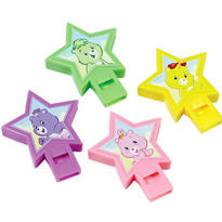 Care Bears Whistles 4ct