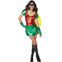 Teen Girls Robin Costume