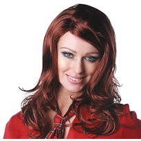 Sultry Sangria Red Premium Wig