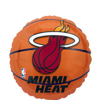 Miami Heat Balloon 18in