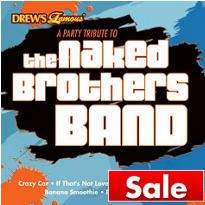 A Party Tribute To The Naked Brothers Band CD