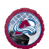 Foil Colorado Avalanche Balloon 18in