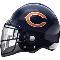 Chicago Bears Helmet Foil Balloon 26in