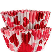 Valentines Day Hearts Cupcake Baking Cups 50ct