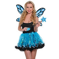 Blue Sparkle Fairy Accessory Kit