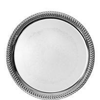 Silver Metal Round Platter