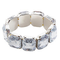 Jazzy Faux Diamond Bracelet