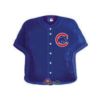 Chicago Cubs Jersey Balloon 26in
