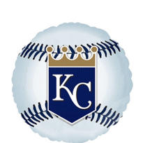 Kansas City Royals Blue Foil Balloon 18in