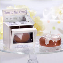 Bun in the Oven Scented Candle Baby Shower Favor