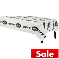 White New York Jets Table Cover