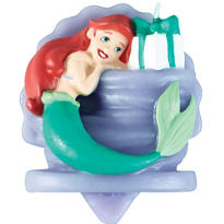 Ariel Birthday Candle 3in