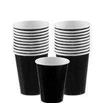 Black Paper Cups 20ct