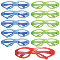 Sporty Multicolor Sunglasses 22ct