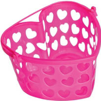 Bright Pink Heart Container