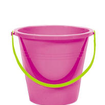 Small Bright Pink Pail