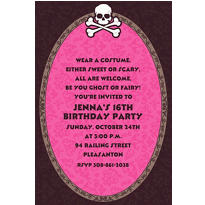 Custom Pretty in Pink Invitations