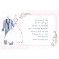 Sweet Romance Custom Invitation
