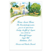 Utopia Home Custom Housewarming Invitation