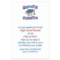 Graduation Celebration Custom Invitation