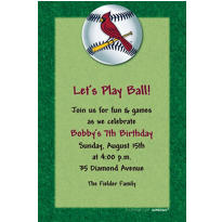 St. Louis Cardinals Custom Invitation