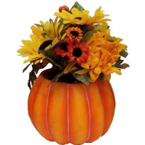 Fall Sunflower Pot