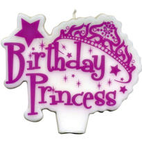 Birthday Princess Candle