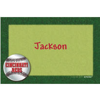 Cincinnati Reds Custom Thank You Note