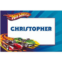 Hot Wheels Custom Thank You Note