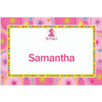 One-Derful Girl 1st Birthday Custom Thank You Note