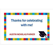 Bravo Grad Custom Thank You Notes