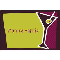 Shaken Martini Custom Thank You Note