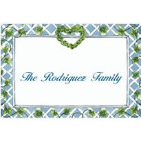 Trellis Front Door Custom Thank You Note